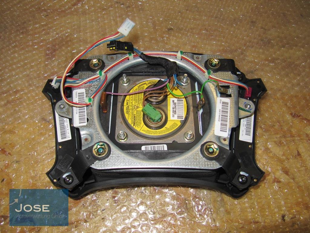 lenkrad leder airbag multifunktion prallplatte 6753947. Black Bedroom Furniture Sets. Home Design Ideas