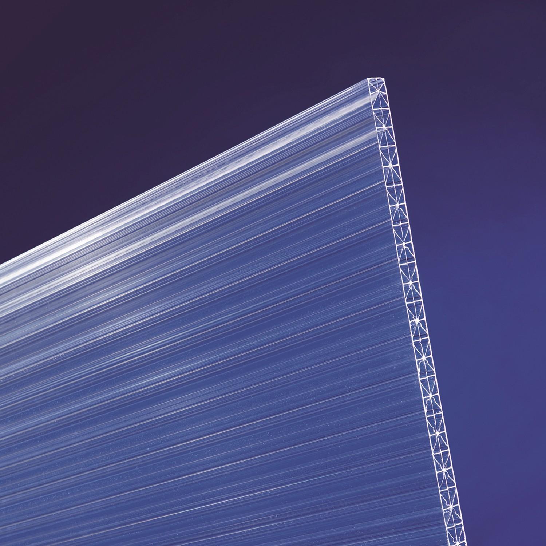 scobalit x ar dual x polycarbonat hohlkammerplatten klar l 2500mm b 980mm 16mm. Black Bedroom Furniture Sets. Home Design Ideas