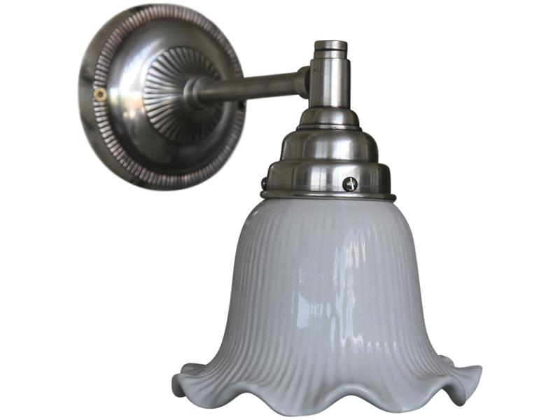 Wandlampe weiß, Lampe, Shabby, Nostalgie, Landhausstil,V intage 7067