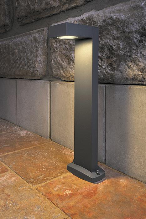 slv gartenleuchten quadrasyl stehleuchten sl 75 eckig anthrazit ebay. Black Bedroom Furniture Sets. Home Design Ideas