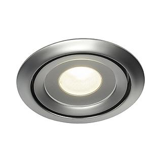 slv einbauleuchten luzo led disk chrom matt fortimo led module philips ebay. Black Bedroom Furniture Sets. Home Design Ideas