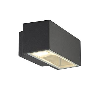 aussenleuchten box r7s wandleuchte eckig anthrazit r7s max 80w ebay. Black Bedroom Furniture Sets. Home Design Ideas