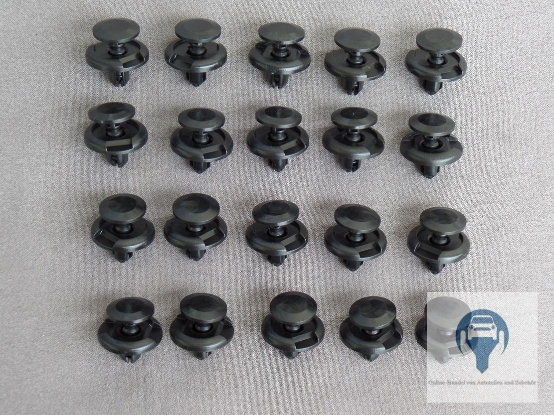 5x clip di fissaggio barra di protezione per VW SKODA SEAT AUDI 3c0853585 3c0853585