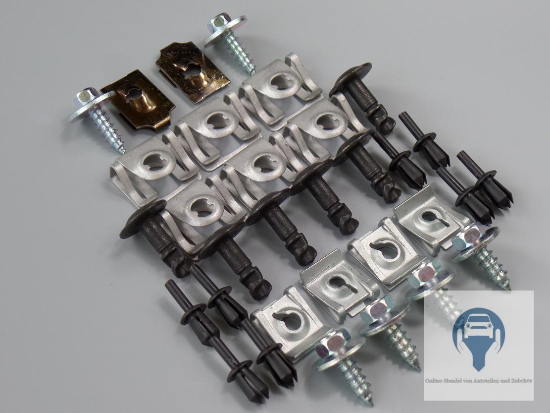 Unterfahrschutz Unterboden Motorschutz Setr Fiat Grande Punto Bj 05-12