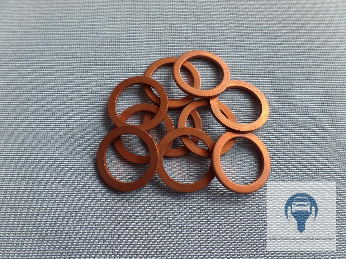 Sealing Ring Gasket Oil Drain Plug 18818 Volvo 240, 740, 760, 780 ...