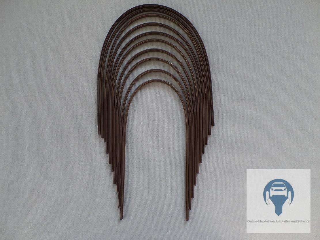 10x wischergummis scheibenwischer f r bosch aerotwin 700mm neu ebay. Black Bedroom Furniture Sets. Home Design Ideas