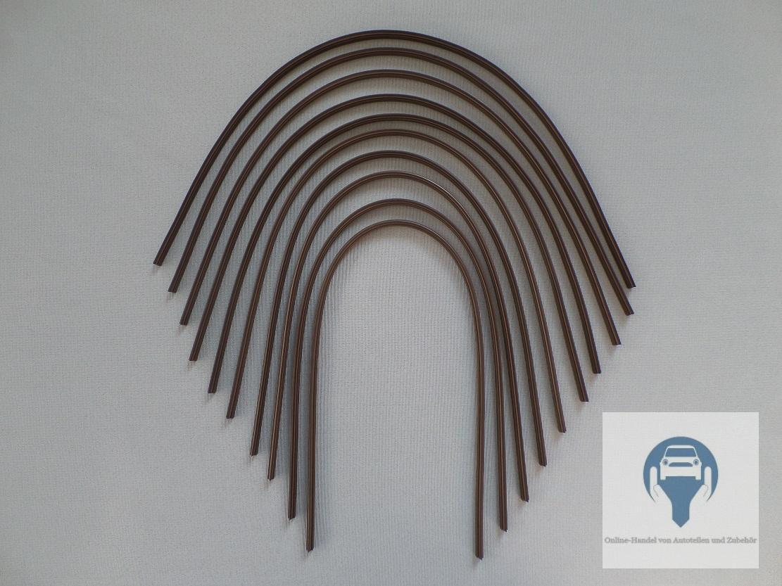10x scheibenwischer gummi f r bosch aerotwin wischergummis 700mm neu. Black Bedroom Furniture Sets. Home Design Ideas