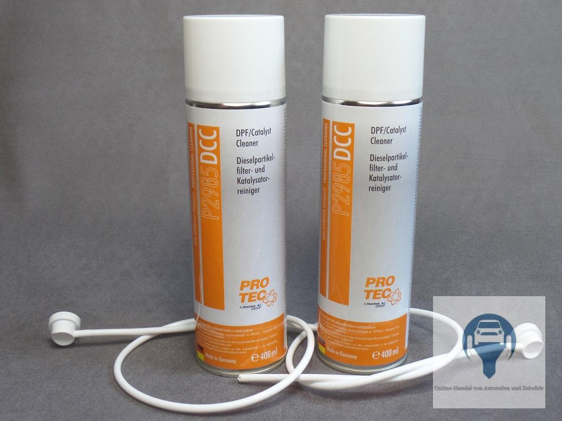 filtre de particule fap suie egr ventil pot catalytique set nettoyants 2x ebay. Black Bedroom Furniture Sets. Home Design Ideas