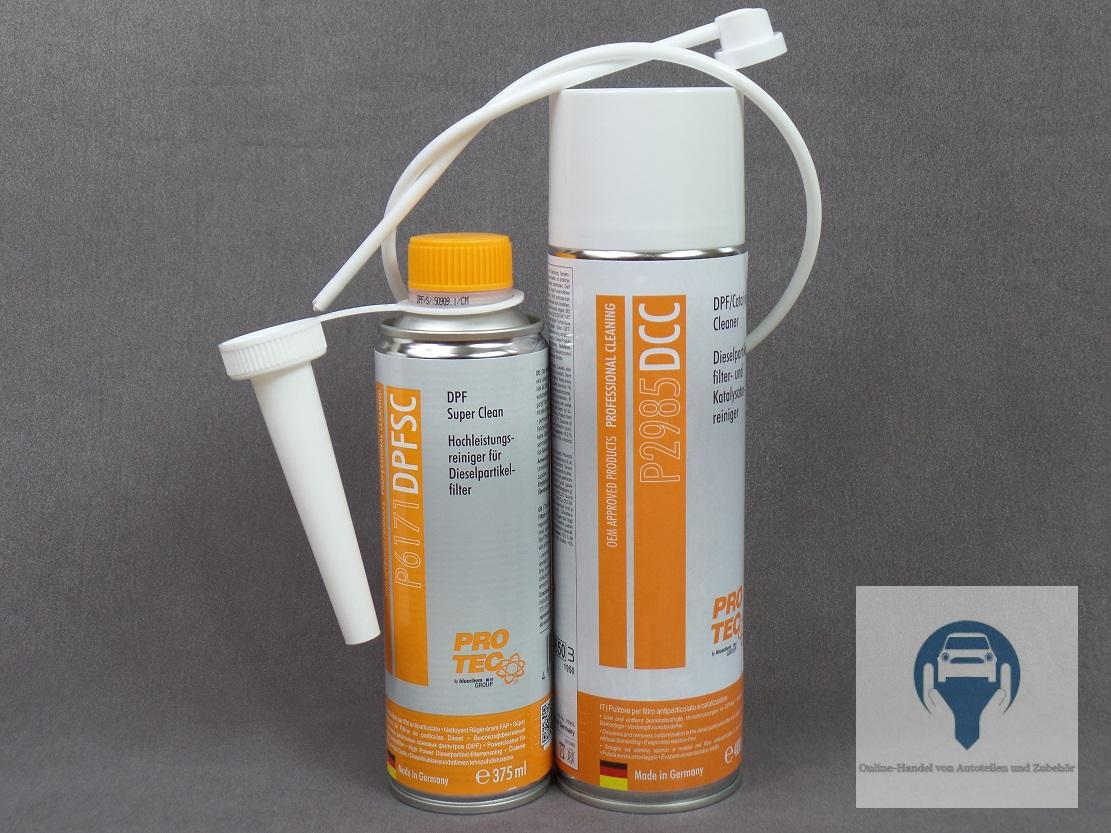 1x kit nettoyeur particules dpf filtre suie pot catalytique 400ml 375ml ebay. Black Bedroom Furniture Sets. Home Design Ideas
