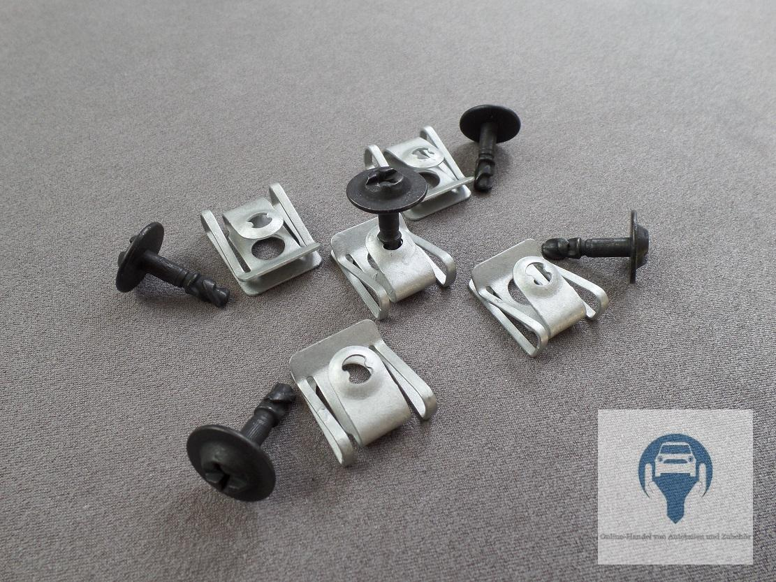 5 Set Motor Protection Underrun Protection Underbody Installation Kit Audi A4 A5 Ebay