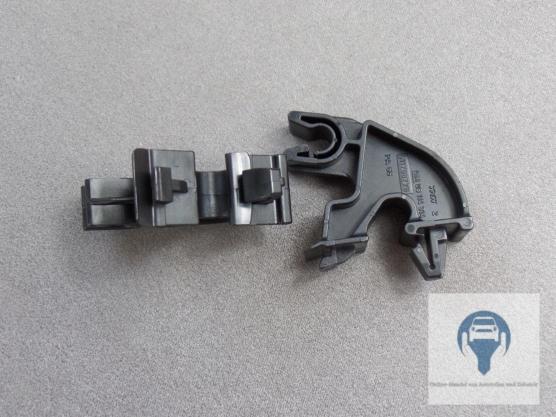 2x support de pince capot barre moteur pour opel corsa c meriva a tigra b ebay. Black Bedroom Furniture Sets. Home Design Ideas