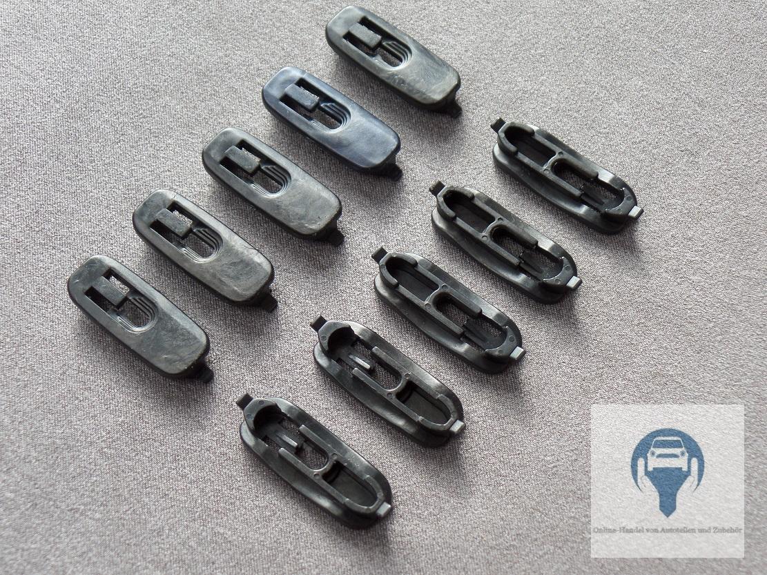 10x Leistenclip Zierleisten Klammer Clip für Audi A3 8L, 18L0853909 ...