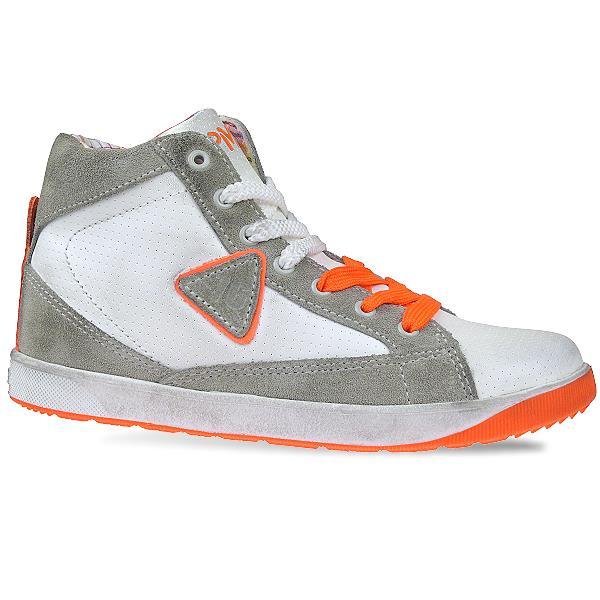 Primigi UNIQUE2 Sneaker High verschiedenfarbige Schnürsenkel Reißverschluss