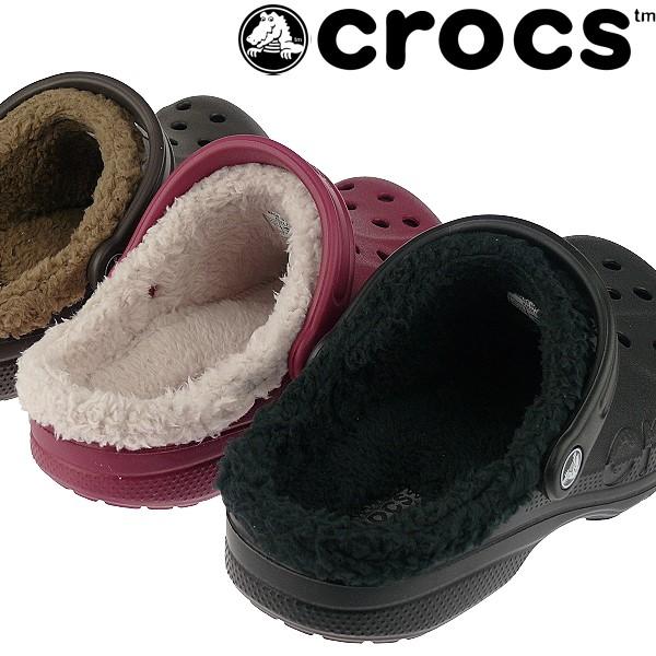 crocs baya lined classic clogs kuschelig f r frauen m nner 3 farben ebay. Black Bedroom Furniture Sets. Home Design Ideas