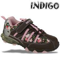 INDIGO Blink Schuhe Sneaker Halbschuhe in 3 Farben wählbar Gr.24-35