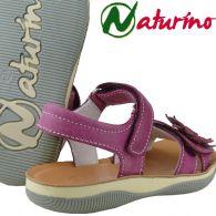 Naturino 5623 zauberhafte Sandale weiches Leder Fuxia ab EUR 71,90 Gr.24-33
