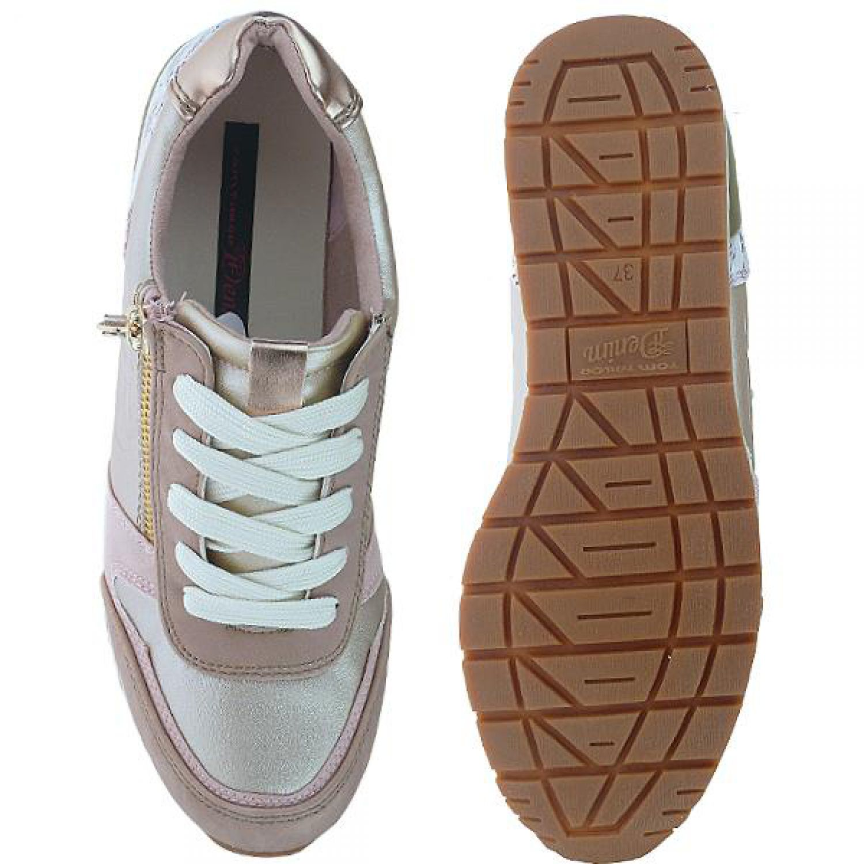 tom tailor 9695702 sportlicher damen sneaker halbschuh. Black Bedroom Furniture Sets. Home Design Ideas