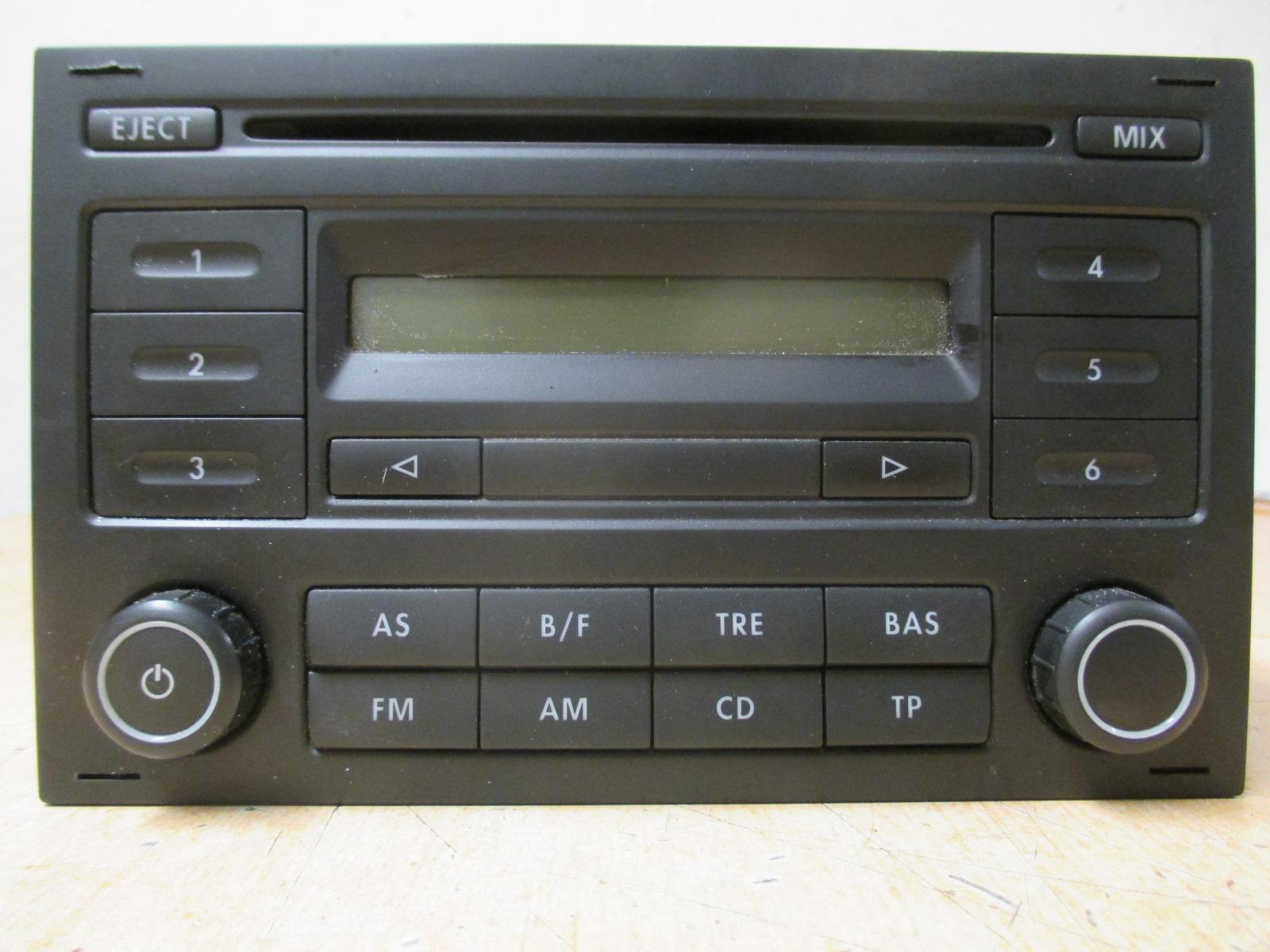 vw polo 9n 1 2 bj 2007 autoradio radio cd 6q00354152c ebay. Black Bedroom Furniture Sets. Home Design Ideas
