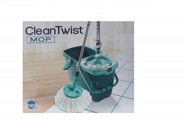 clean twist mop set wischmop 52019 leifheit ebay. Black Bedroom Furniture Sets. Home Design Ideas