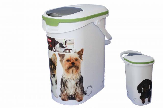 curver petliefe tier futter container 10 liter f r 4 kg trockenfutter hunde 195 ebay. Black Bedroom Furniture Sets. Home Design Ideas