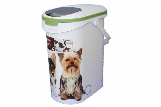 curver petliefe tier futter container 10 liter f r 4 kg. Black Bedroom Furniture Sets. Home Design Ideas
