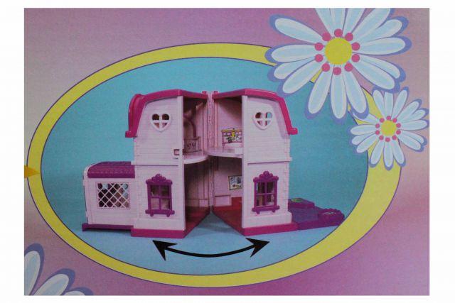Evis Villa Traumvilla Puppenhaus mit Lift Steffi Love