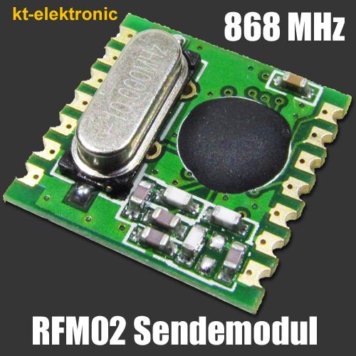 HopeRF-RFM02-868S1-Transmitter-Sende-Modul-868MHz-6dBm