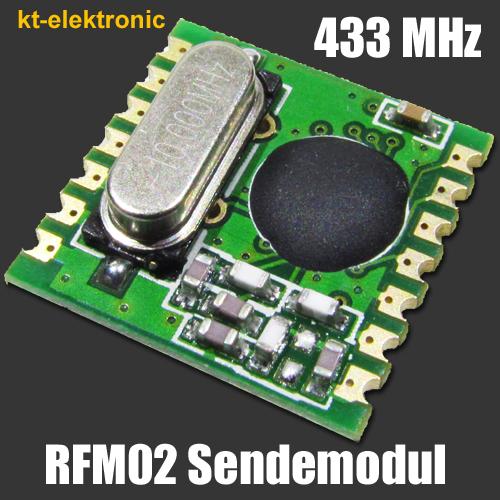 HopeRF-RFM02-433S1-Transmitter-Sende-Modul-433MHz-8dBm