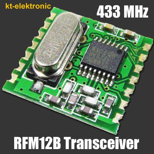HopeRF-RFM12B-433S1-Transceiver-Sende-Emfangs-Modul-433MHz
