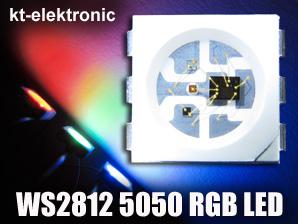 10-Stueck-WS2812-RGB-SMD-5050-PLCC6-LED-mit-integriertem-WS2811-Controller
