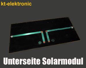 1x 7V 145mA 1W 90x90mm Solarmodul Solarzelle Polykristallin vergossen