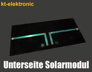 1 Stück 12V 50mA 0,6W 70x80mm Solarmodul Solarzelle Monokristallin vergossen