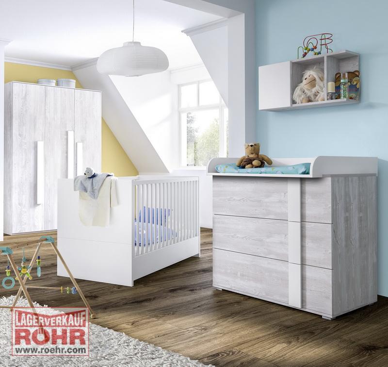 r hr scandi babyzimmer komplettangebot sparvariante 1 4 teilig ebay. Black Bedroom Furniture Sets. Home Design Ideas