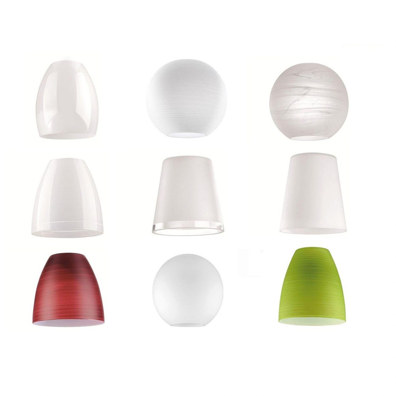 fischer leuchten m6 medium1 led verschiedene gl ser schirme f r lampen zubeh r ebay. Black Bedroom Furniture Sets. Home Design Ideas