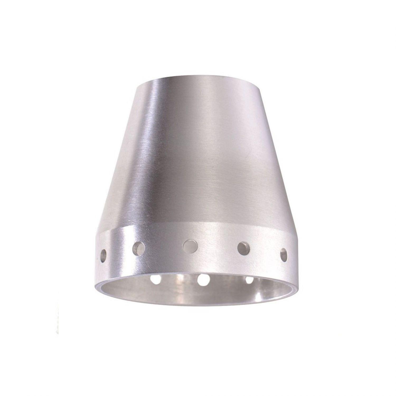 fischer leuchten m6 29070 spot16 spot18 glas lampenschirm aluminium matt zubeh r ebay. Black Bedroom Furniture Sets. Home Design Ideas