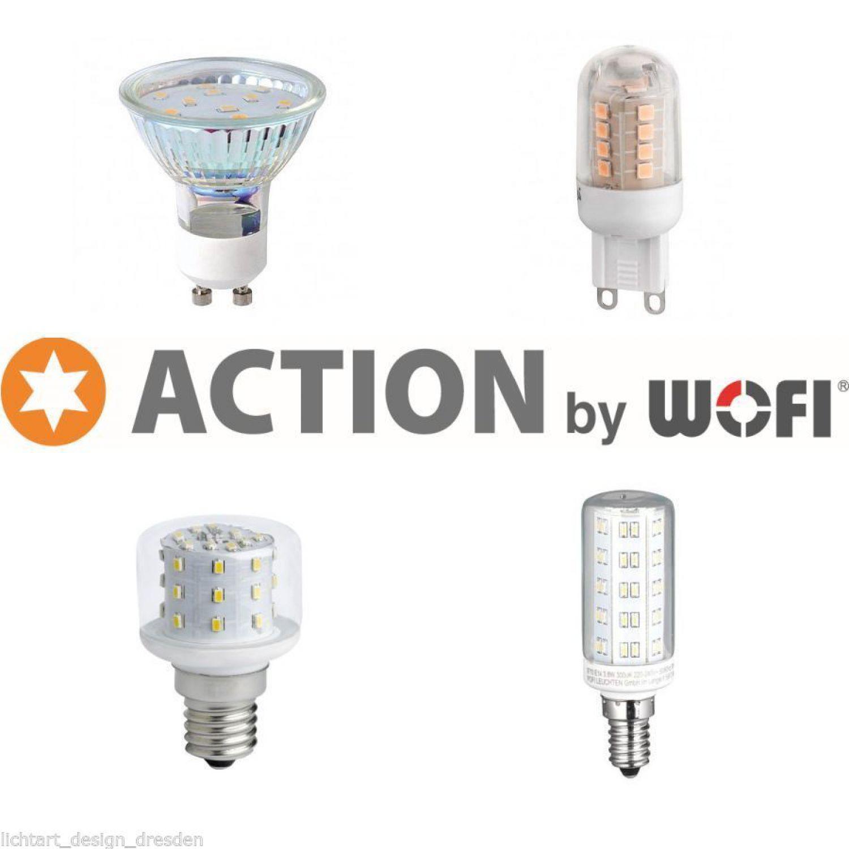 action by wofi led smd leuchtmittel 3 4 w lange lebensdauer g9 e14 gu10 g nstig ebay. Black Bedroom Furniture Sets. Home Design Ideas