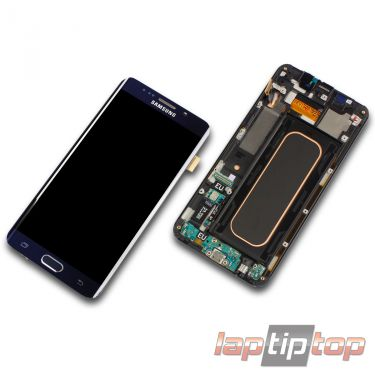100% Original Samsung Galaxy S6 Edge+ Plus SM-G928F Display schwarz blau black