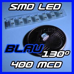 smd led blau blue 400mcd leds 12v tuning kfz beleuchtung modellbau mini lok 130 ebay. Black Bedroom Furniture Sets. Home Design Ideas