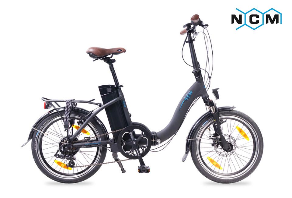 elektrofahrrad e bike 20 zoll faltrad paris 36v 250w 36v 11ah schwarz ebay. Black Bedroom Furniture Sets. Home Design Ideas