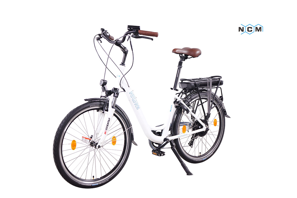 ncm munich elektrofahrrad e bike 28 damen pedelec 36v. Black Bedroom Furniture Sets. Home Design Ideas