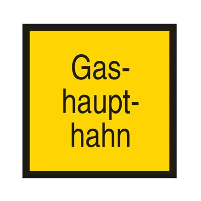 Hinweisschild-Gashaupthahn-Folie-selbstklebend-200-x-200-mm