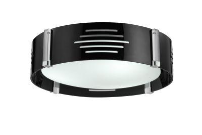 deckenleuchte leuchte lampe schwarz wei wohnzimmer k che flur schlafzimmer ebay. Black Bedroom Furniture Sets. Home Design Ideas