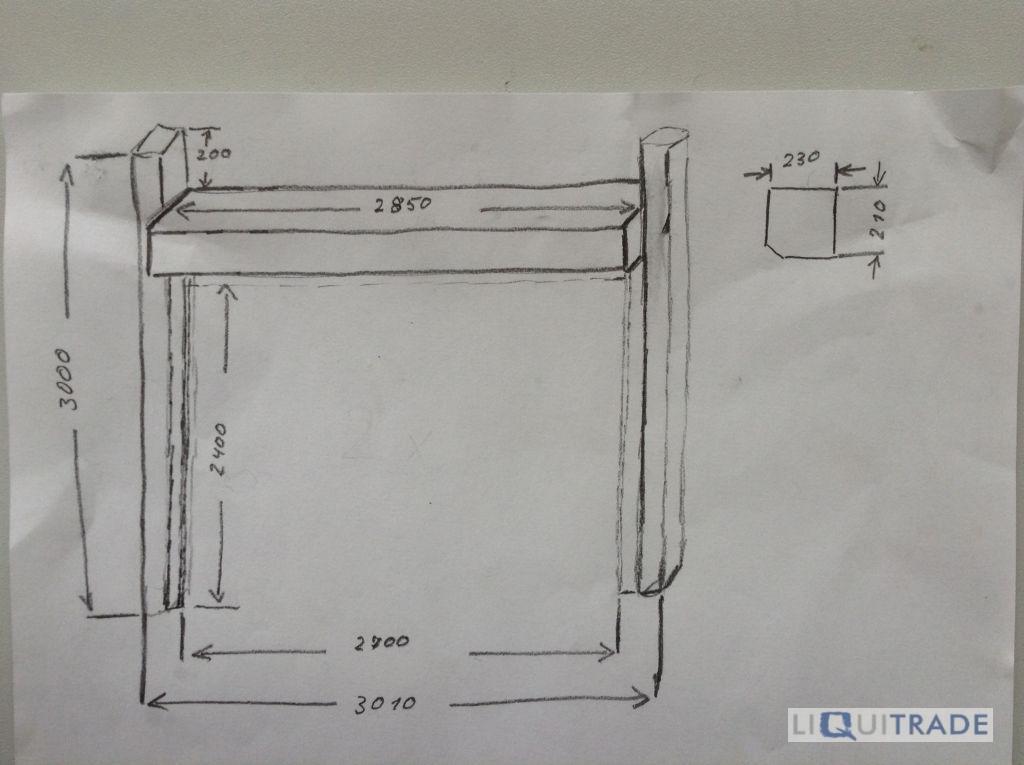 elektrisches rolltor rollladen f r octanorm messestand. Black Bedroom Furniture Sets. Home Design Ideas
