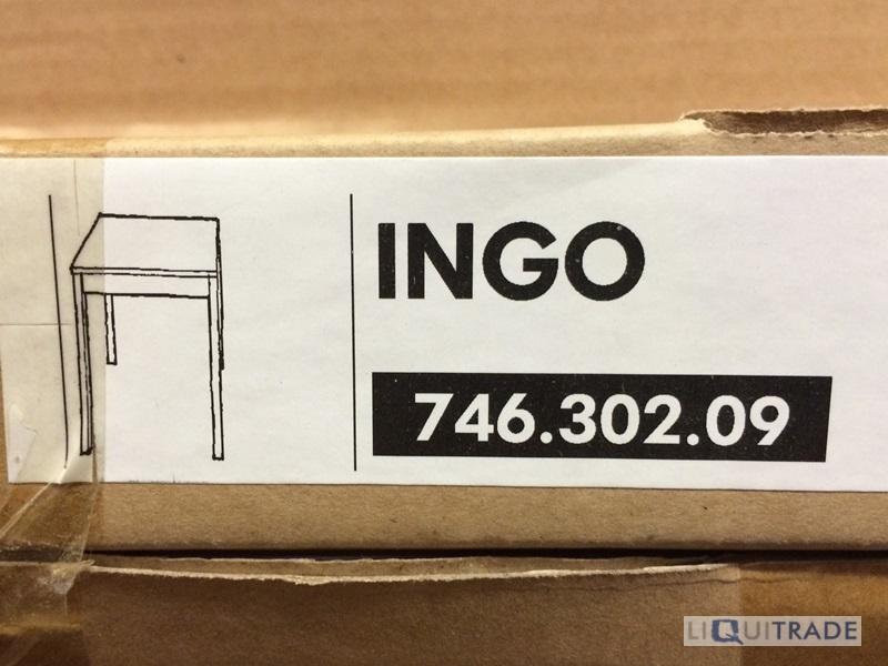 ikea tisch tische esstisch ingo kiefer massiv 75 x 75 x. Black Bedroom Furniture Sets. Home Design Ideas