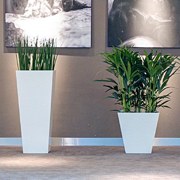 grosser terrassen bertopf wintergarten palmentopf eckig weiss vorratsbeh lter. Black Bedroom Furniture Sets. Home Design Ideas