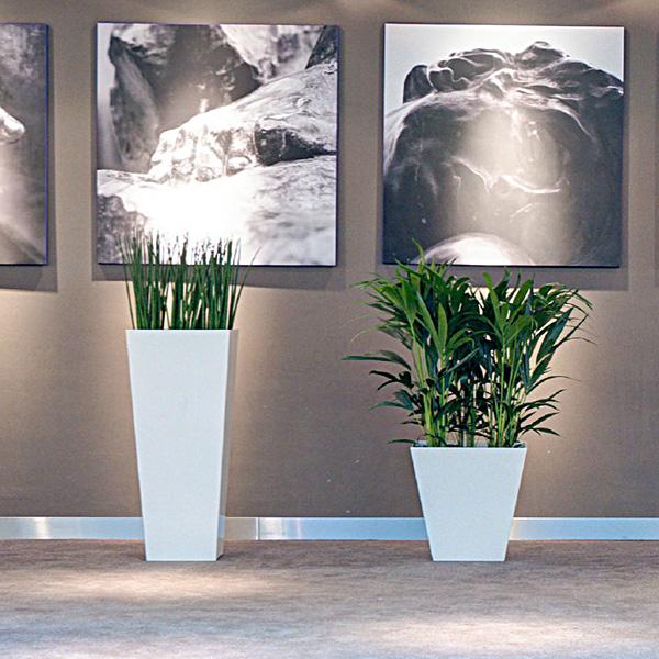 übertöpfe Für Zimmerpflanzen 45 x 45 cm eckiger übertopf ink wasser vorratsbehälter artstone