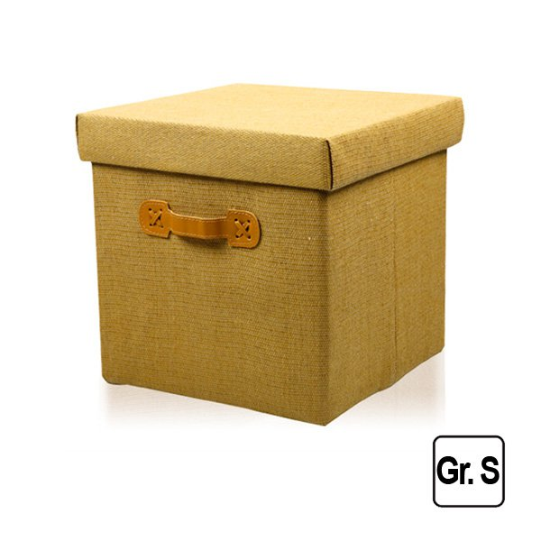 faltbox deckel beige aufbewahrung box m belbox kinderbox stoff stoffkiste kiste ebay. Black Bedroom Furniture Sets. Home Design Ideas