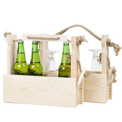 biertr ger holz flaschentr ger bierkasten m nnerhandtasche. Black Bedroom Furniture Sets. Home Design Ideas