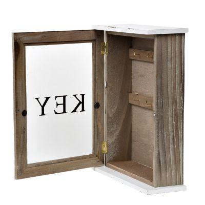 Schlüsselkiste Schlüsselschrank Holz Schlüsselbrett ...