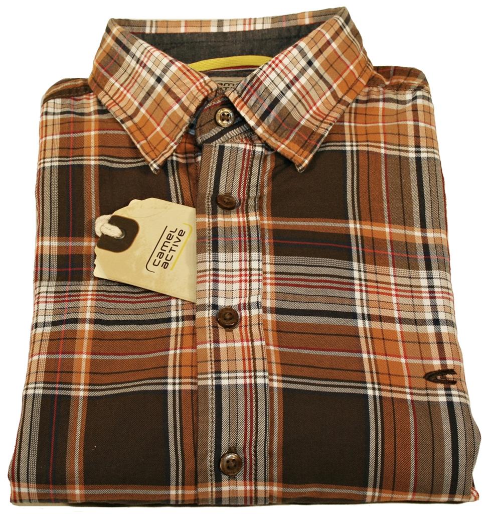 camel active herren freizeit hemd shirt langarm 335550 28. Black Bedroom Furniture Sets. Home Design Ideas